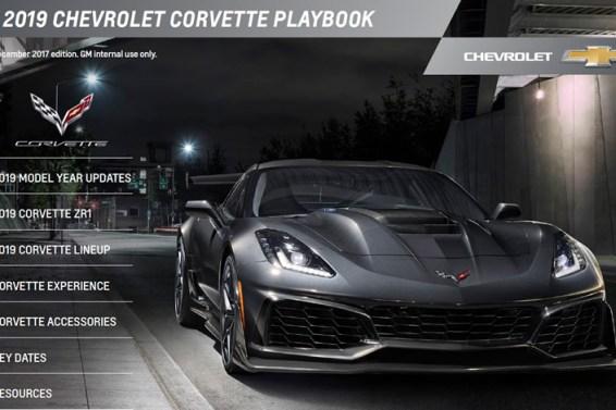 2019 Corvette Playbook