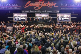 Chevrolet Corvettes Raise $2.325 Million at Barrett-Jackson to benefit Military Veterans
