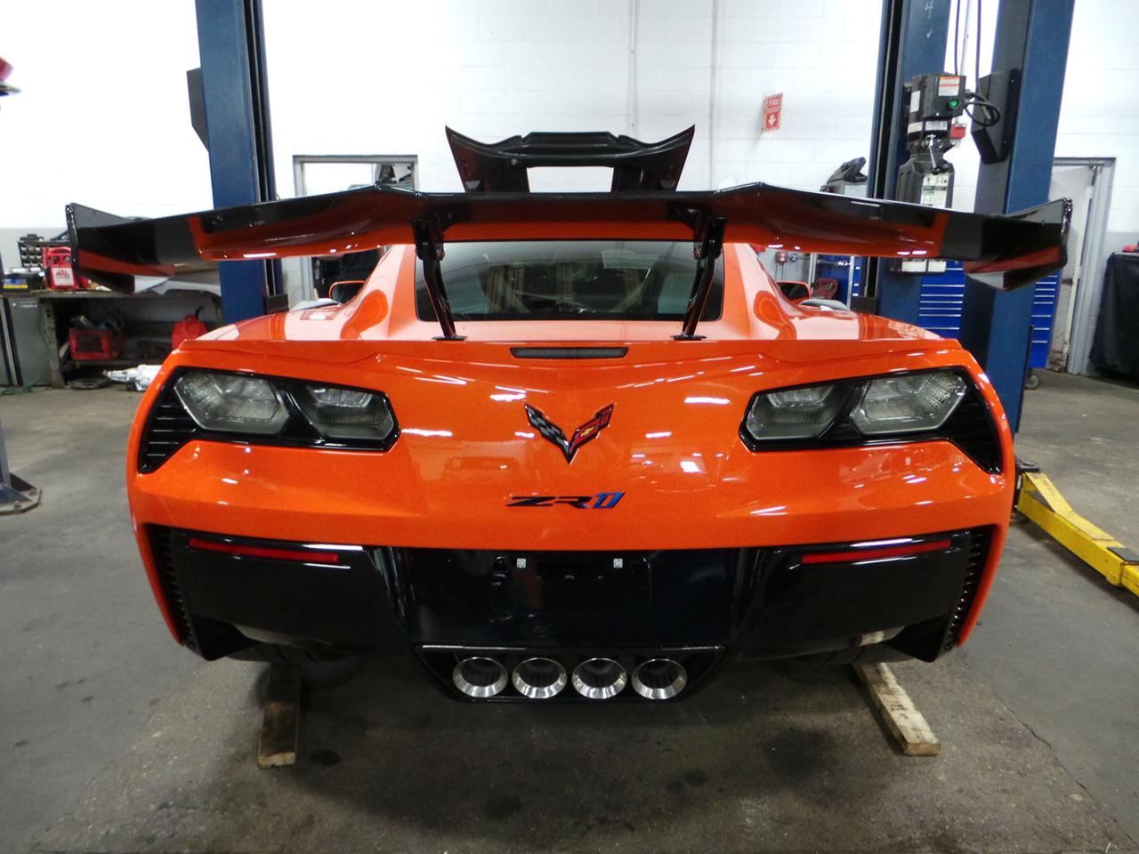 2019 Corvette ZR1 - Number 76
