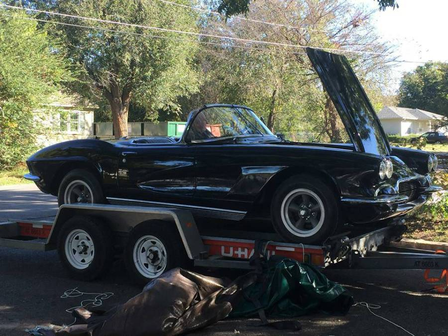 1962 Corvette stolen in Tulsa, Okahoma