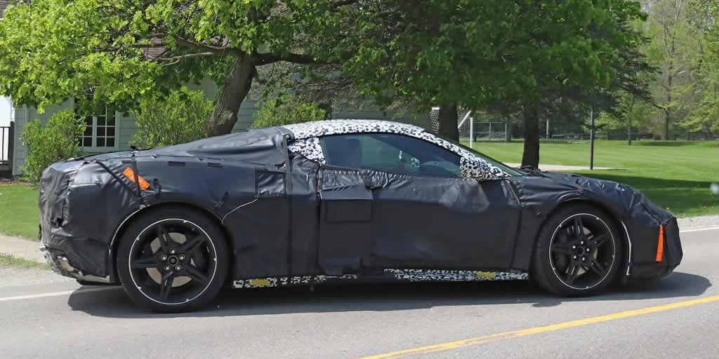 2020 Mid-Engine Corvette Prototype