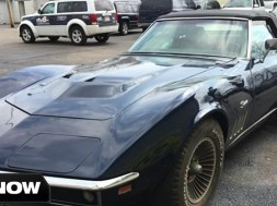 Indianapolis man's stolen Corvette recovered after 44 years.