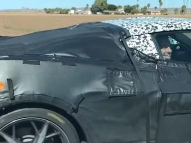 GM President Mark Reuss Riding in a 2020 Mid-Engine C8 Corvette