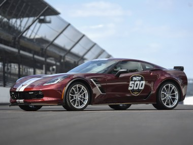 The 2019 Corvette Grand Sport will serve as the Official Pace Car for the 2019 Indianapolis 500 presented by Gainbridge, leading 33 drivers to the green flag on May 26 for the 103rd running of the legendary race.