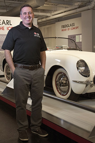 Dr Sean Preston - President and CEO of the National Corvette Museum