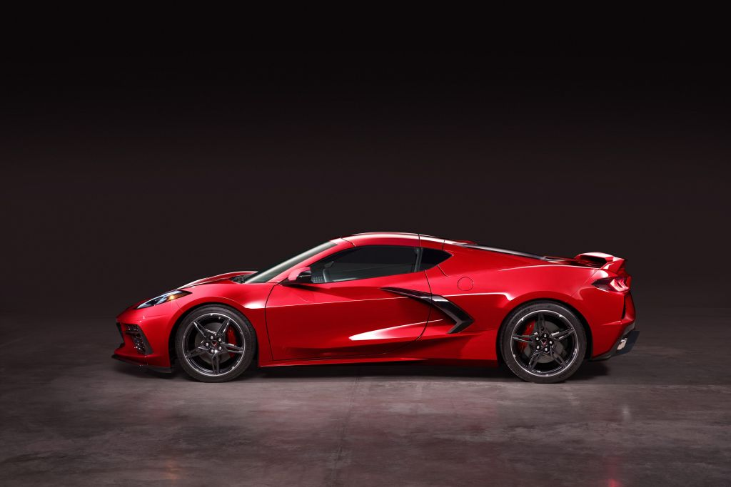 2020 C8 Corvette - Side View