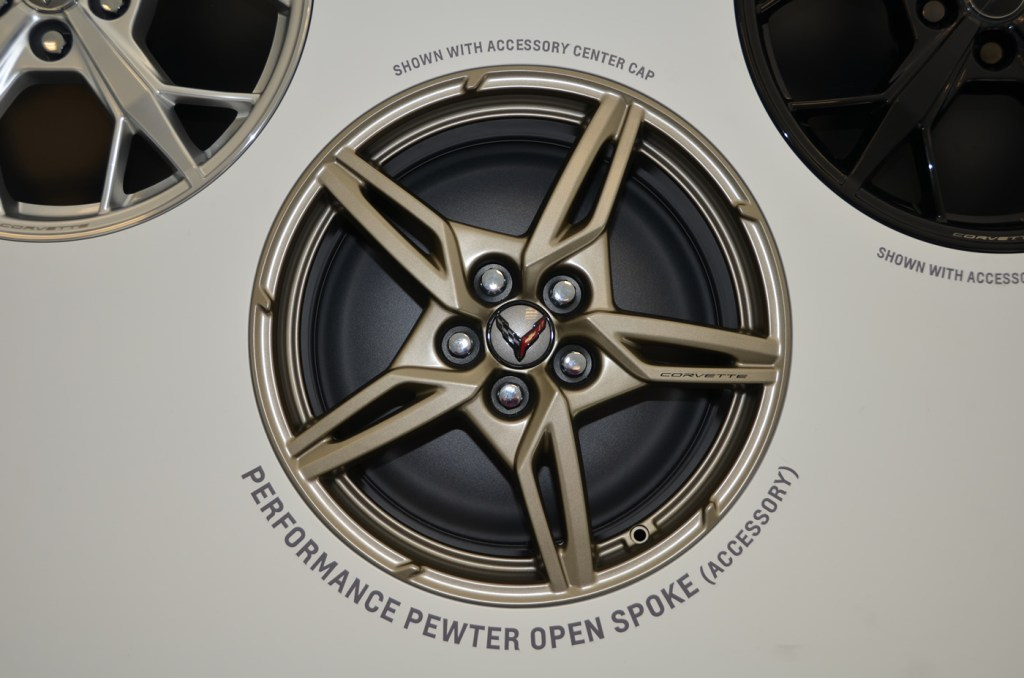 2020 C8 Corvette Performance Pewter Opene Spoke Wheel