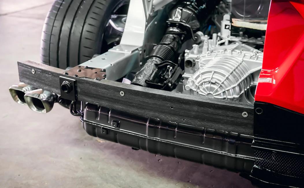 2020 Corvette Carbon Fiber Bumper Beam