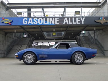 1972 Corvette 350 (slash) 200 Convertible – Bloomington Gold Benchmark, June 2018 – Steve and Wendy Burns, Michigan