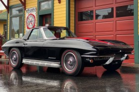 1967 Corvette Big Block in Tuxedo Black with Red Interior – File Photo