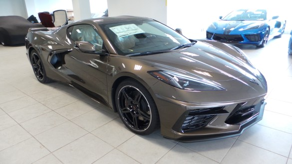 2020 Corvette Stingray in Zeus Bronze Metallic