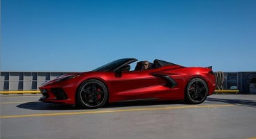 2021 Corvette in Red Mist Metallic
