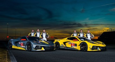 Corvette C8.R Race Team