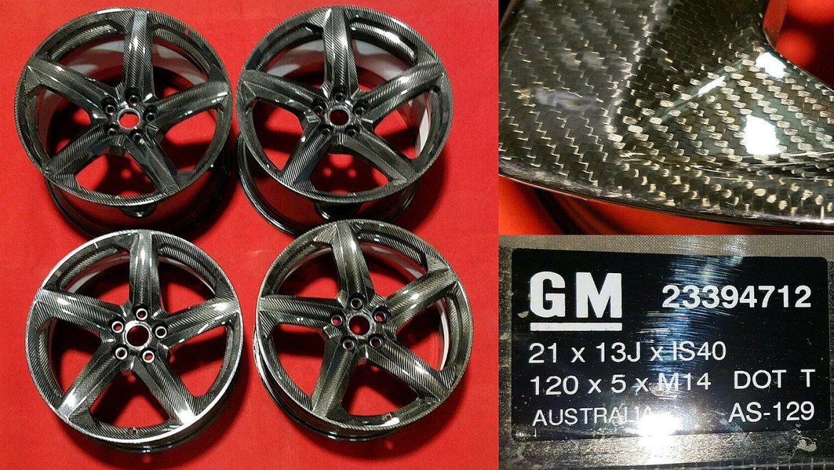 Carbon-Fiber C8 Corvette Wheels Show Up on eBay — Are They for the C8 Z06?