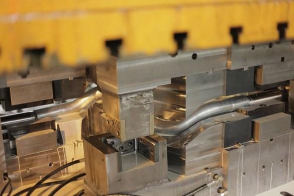 Corvette Frame Rail Hydroforming
