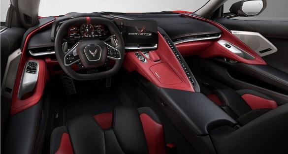 2021 Corvette Interior - 1G1YC2D41M5100001