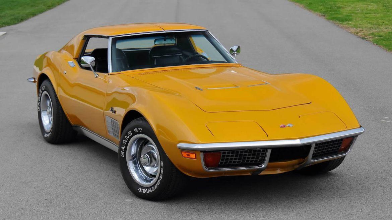 1972 Corvette Serial No. 001 in War Bonnet Yellow