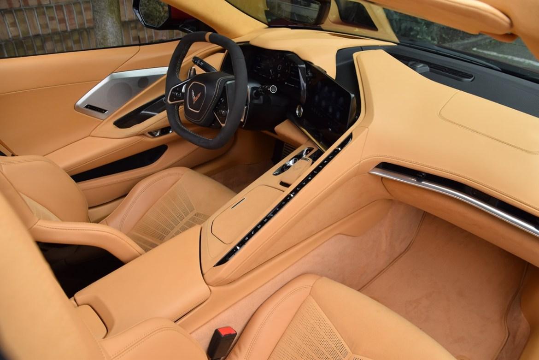 2020 Corvette Natural Dipped Interior