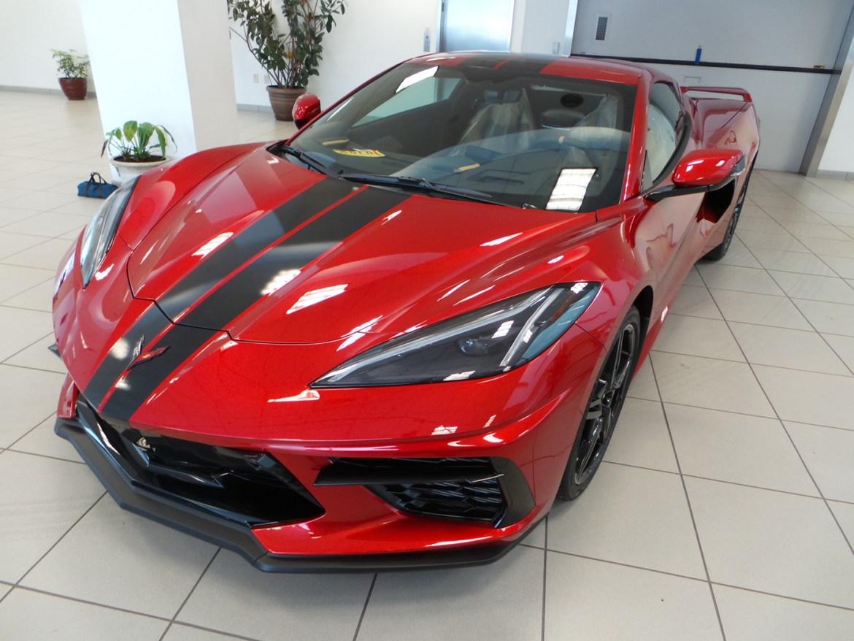 2021 Corvette Coupe in Red Mist Metallic