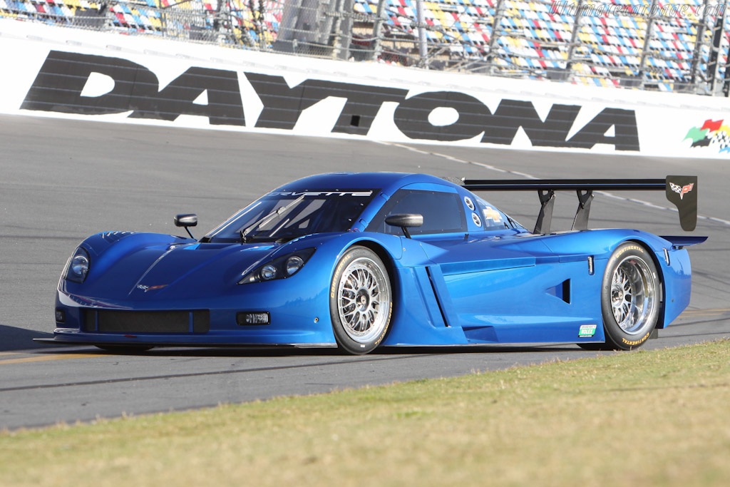 Chevrolet unveiled its 2012 Corvette Daytona Prototype at Dayton