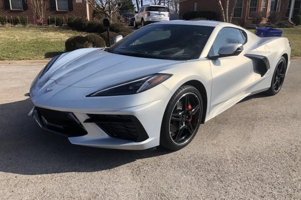 2021 Corvette in Silver Flare Metallic