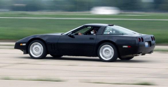 1990 Corvette ZR-1 On Track