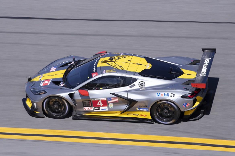 Number 4 Corvette C8.R