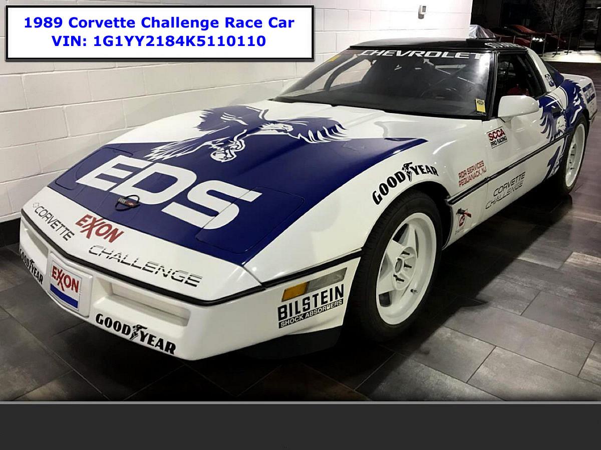 For Sale: 1989 Corvette Challenge Race Car #1 - Corvette Action Center