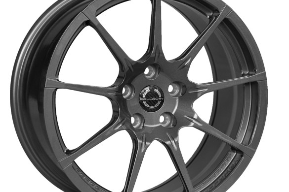 Callaway Corvette C8 Wheel in Gloss Titanium