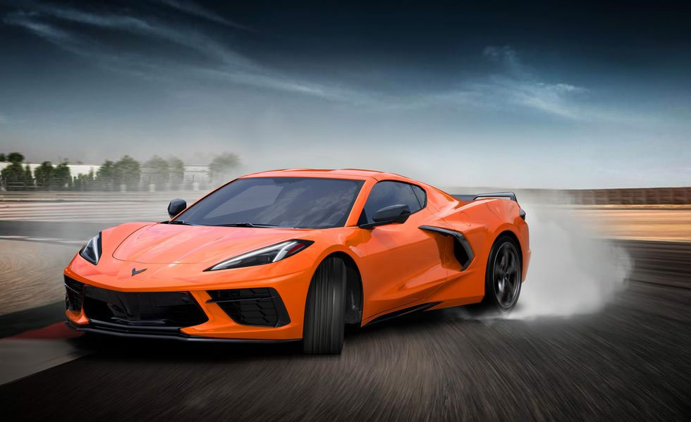 2022 Corvette - Amplify Orange Metallic