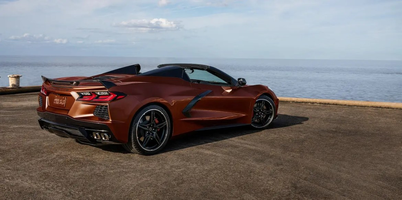 2022 Corvette in Caffeine Metallic