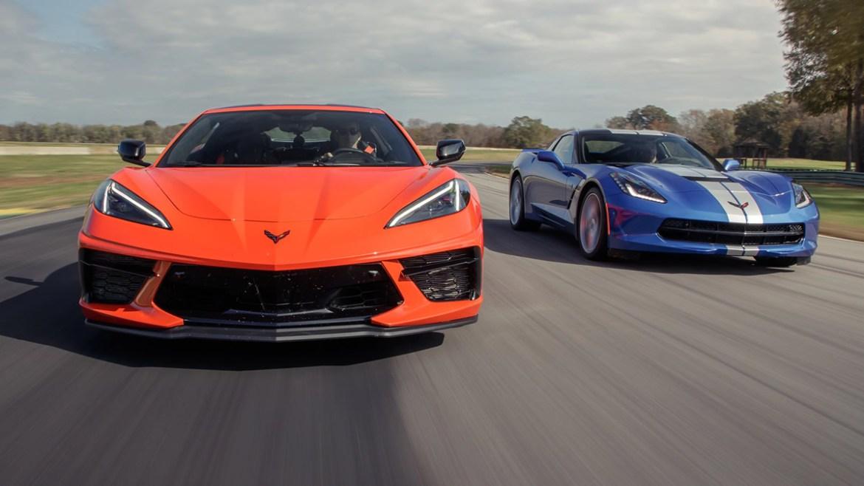 2020 and 2019 Corvettes