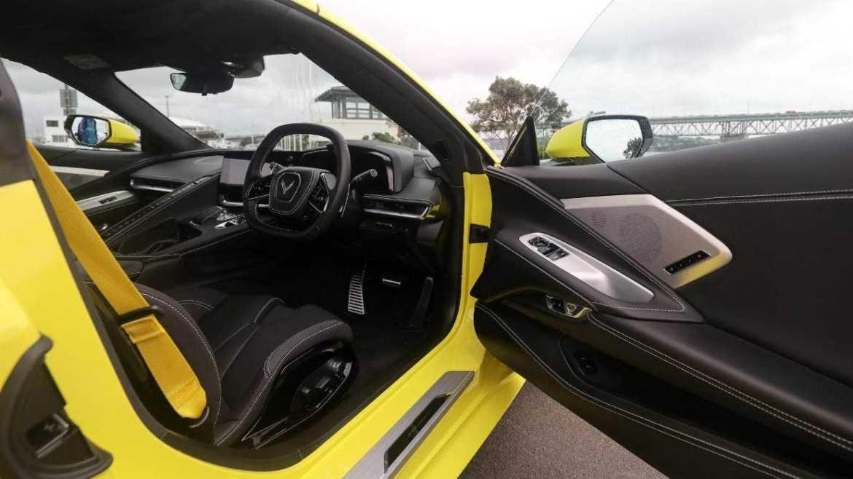2022 Corvette Stingray Right-Hand Drive