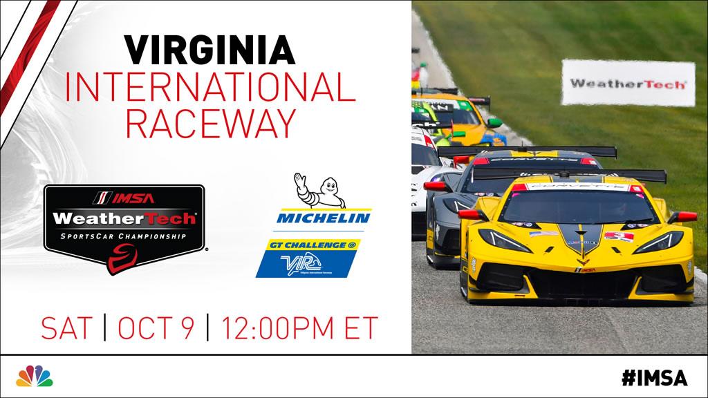 Corvette Racing - Virginia International Raceway - IMSA