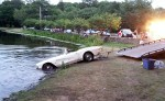Classic 1962 Corvette Rolls Into a Connecticut Pond