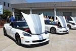 [PICS] 2013 Arctic White Corvettes on Dispay at the NCM Bash
