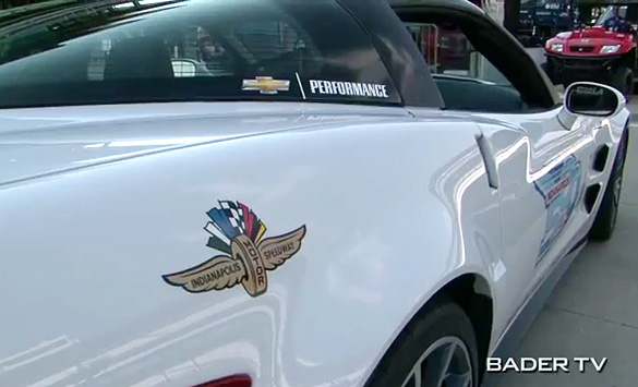 [VIDEO] Guy Fieri to Drive the 2013 Corvette ZR1 Indianapolis 500 Pace Car