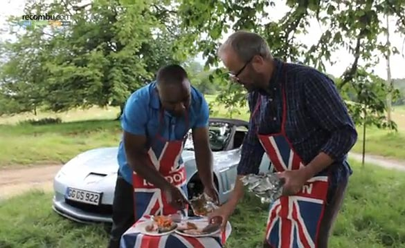Two English Gents Show How to Cook with a Corvette V8 Engine