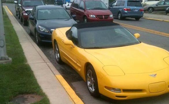 Indiana Mayor Fights Police Department after Corvette Receives Parking Ticket