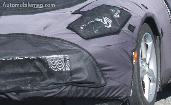 Spy Photos Capture Upgraded Interior in the 2014 C7 Corvette