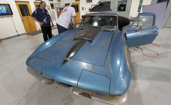 Preservation Expert Eric Gill to Lead Restoration of Neil Armstrong's 1967 Corvette