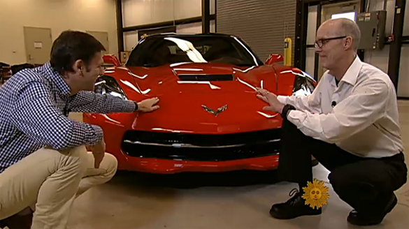 [VIDEO] The 2014 Corvette Stingray Featured on CBS Sunday Morning