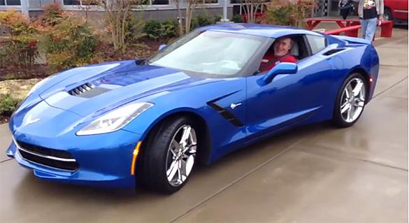 [VIDEO] The 2014 Corvette Stingrays Leave the National Corvette Museum