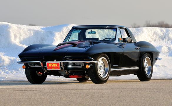 Lot S127 1967 Chevrolet Corvette Convertible