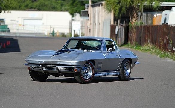 Lot S136 1967 Chevrolet Corvette Coupe 427/435 HP, Bloomington Gold Benchmark