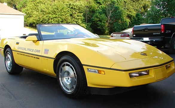 1986 Indy 500 Pace Car Corvette Convertible Stolen After Ad Placed on Craigslist