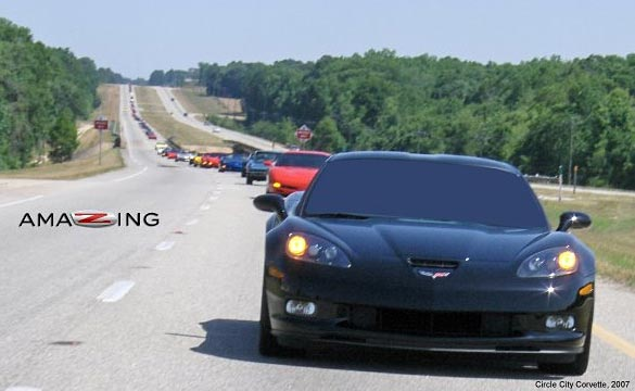 Meet the 2014 Corvette Stingray and Kirk Bennion at Circle City Corvette's Beach Caravan 2013