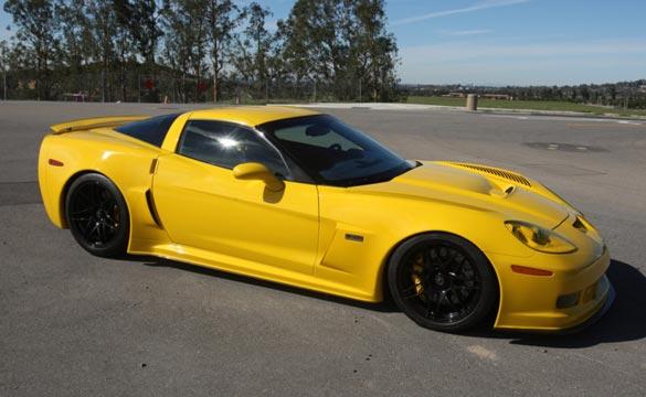 Corvettes on eBay: Rare Pratt & Miller Corvette C6RS Supercar
