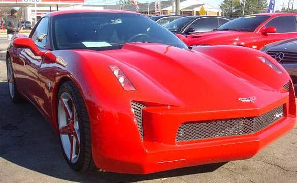 Corvettes on Craigslist: Transformers Inspired C6 Corvette