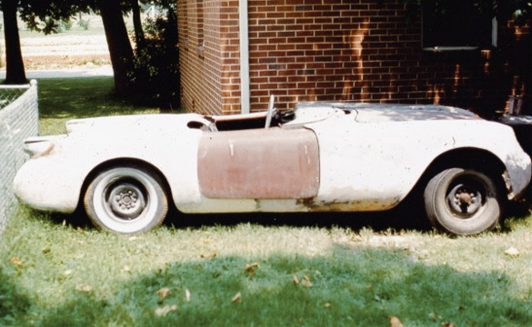 Barn Finds: The Story of 1955 Corvette VIN# 001